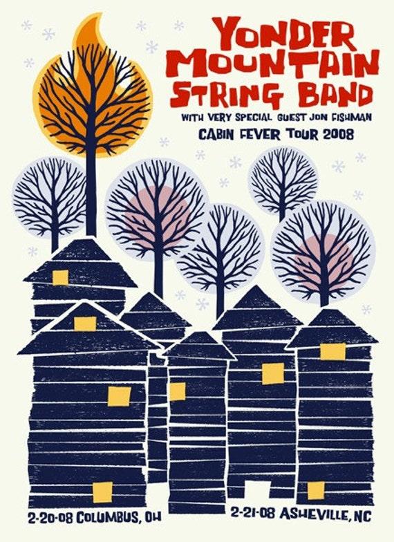 Yonder Mountain String Band - Tour Poster