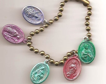 Weight Watchers Charm Bracelet, Patron Saints for Dieters