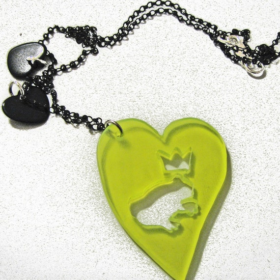 Green Frog Prince Necklace