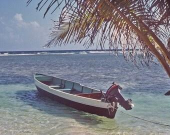 Boat South Caye, Belize