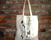 Roll Up Tote Bag - Geometric