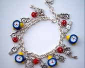 WATCHING TIME G0 BY Clock & Watch Charm Bracelet