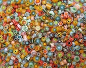 Murrini Madness Mix of 100 Great for Lampwork Beadmaking