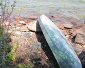 Canoes, photograph