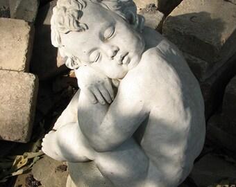 Sleeping angel, photograph