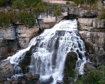 Inglis Falls, Ontario, photograph