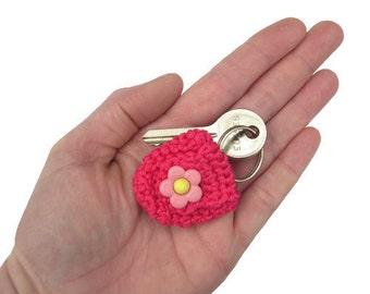 Keychain Coin Holder (W-KCN-050), women accessory, keychain coin purse, mini coin purse, cute keychain, pink keychain
