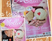 DESTASH:  Mollie Makes ISSUE 4-share the love