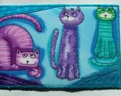 My Three Cats Postcard