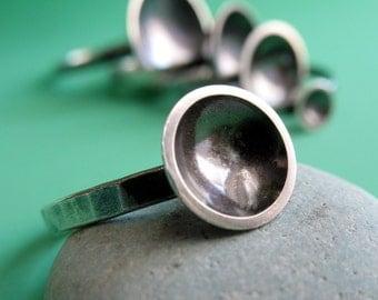 Medium Saucer Ring