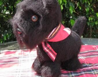 Crocheted Scottie Amigurumi