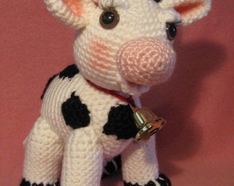 Molly Moo The Amigurumi Cow