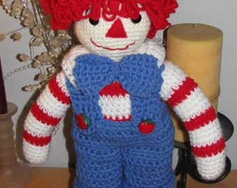 Crocheted Rag Doll Andy Pattern
