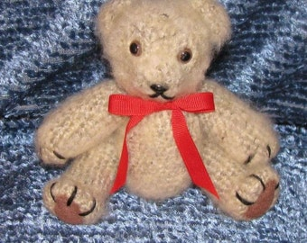 Crocheted Lovable Love Bear