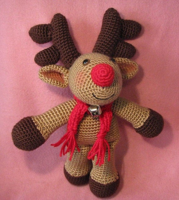 Randy The Merry Amigurumi Reindeer