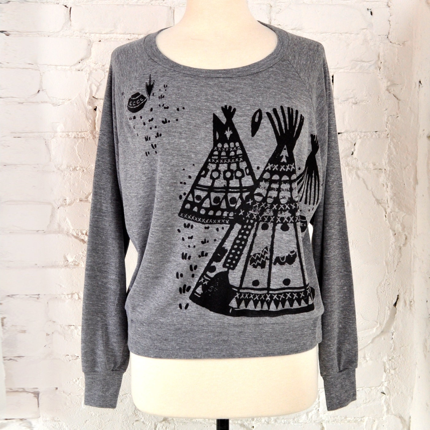 Sale graphic t shirt teepee native american inspired design for T shirt graphics for sale