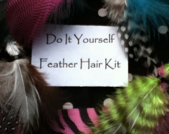 DIY Hair Feather Kits