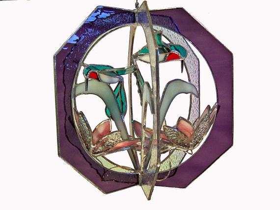 Hummingbird Suncatcher Whirl