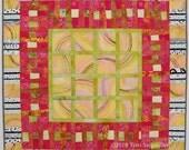 Melon Slices - Art Quilt