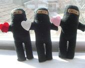 CUSTOM LISTING FOR KNIFEGIRL1 - love ninjas