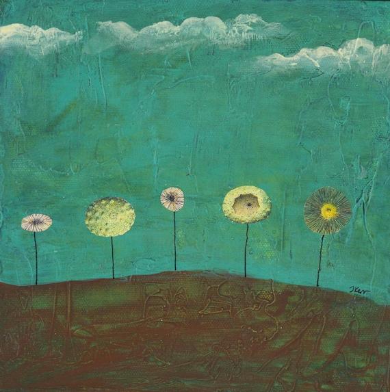 SALE, Acres of Retrospect, Original on Canvas
