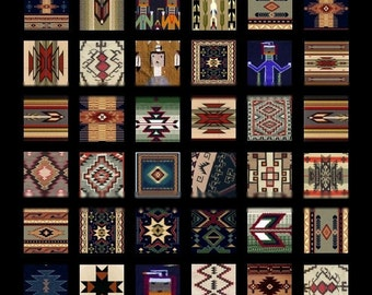 Arizona Treasures Scrabble - 1x1 Inch - Collage Sheet - Instant Download