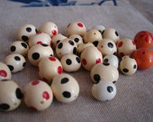Polka Dot Egg Beads