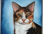 Custom Pet Portrait Canvas by Jen Maddin