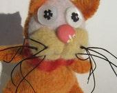Orange Kitten with Stripey Tail