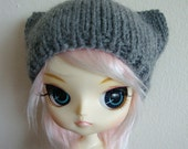 Grey Kitty hat