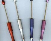 SALE! Beadable Pen YOUR Choice MANY Colors 1pc