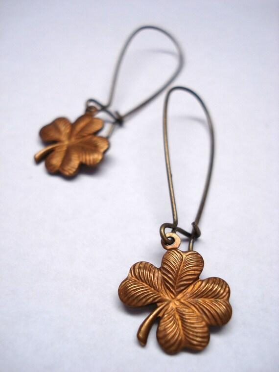 Luck of the Irish Earrings