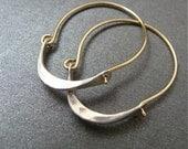 minimalist ... 14k gold filled hoops