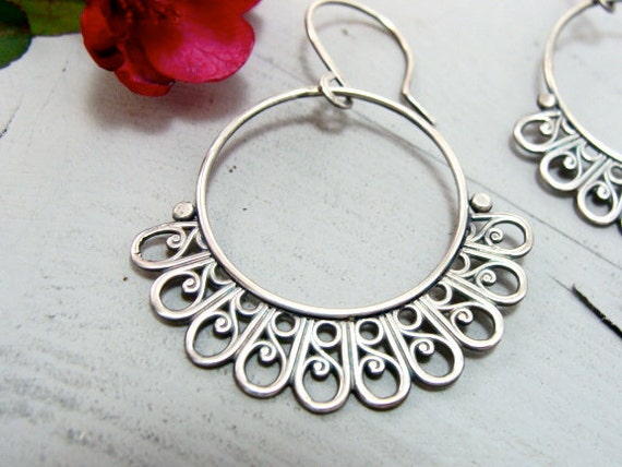 Andalusia ... sterling silver earrings