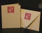 Apricot Blossom Notecards and Envelopes