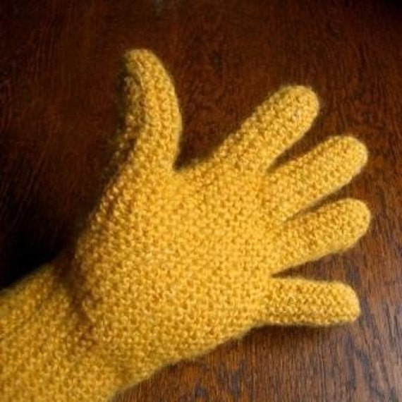 PATTERN Digital Sideways Glove Pattern Knitting DIGITAL Gloves