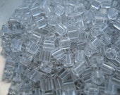 Clear Square Beads