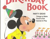 Children's Book - Mickey Mouse Birthday Book party fun
