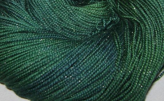 jade - fairy dust sock yarn