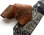 "Circuit Board Necktie. ""Short Circuit"" men's silk necktie. Circuit board print. Programmer, electrical engineer, computer science gift"