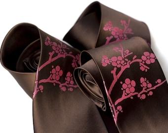 3 Wedding Party Ties. Custom groomsmen neckties. Wedding discount, matching men's ties, same design and print color. Vegan safe microfiber.