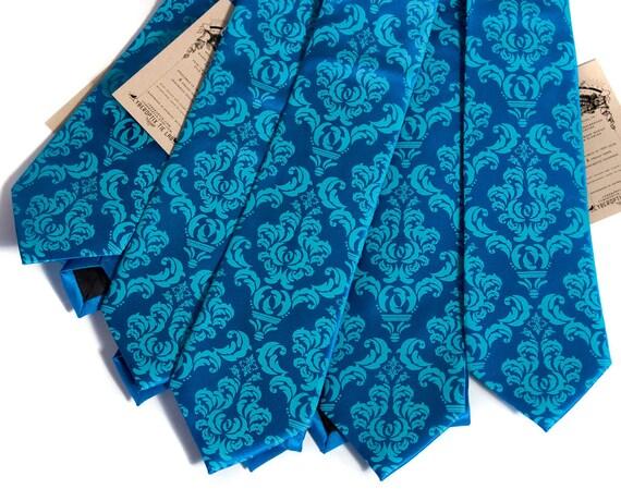5 Mens Wedding Neckties Groomsmen Group Discount Custom