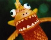 orange monster RESERVED for Plundeen