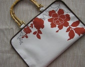Sienna Flowers Cream Purse