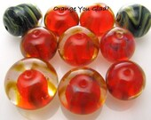 Beads 2 Go - Orange You Glad 10 Bead Set