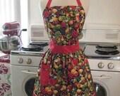 The CHLOE Vintage Inspired Fruit Basket Full Apron