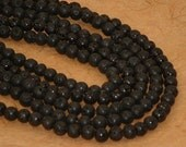 Lava strands - approx 8mm round - special - 2.85 per strand