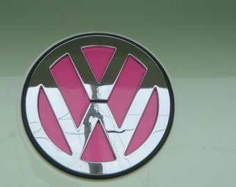 VW Emblem Vinyl Color Inserts