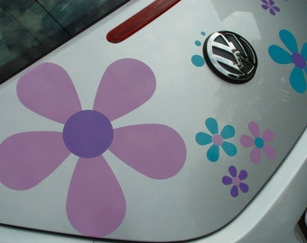 One 12 inch Hippie Flower Decal Sticker by Tonyabug Sticker Momma Special Listing for Ms. S.