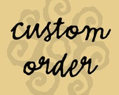 CUSTOM ORDER  - Moving Announcements